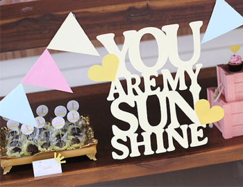 《you aremy sun shine》